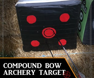 Archery Target - Duct tape & Re-used Materials