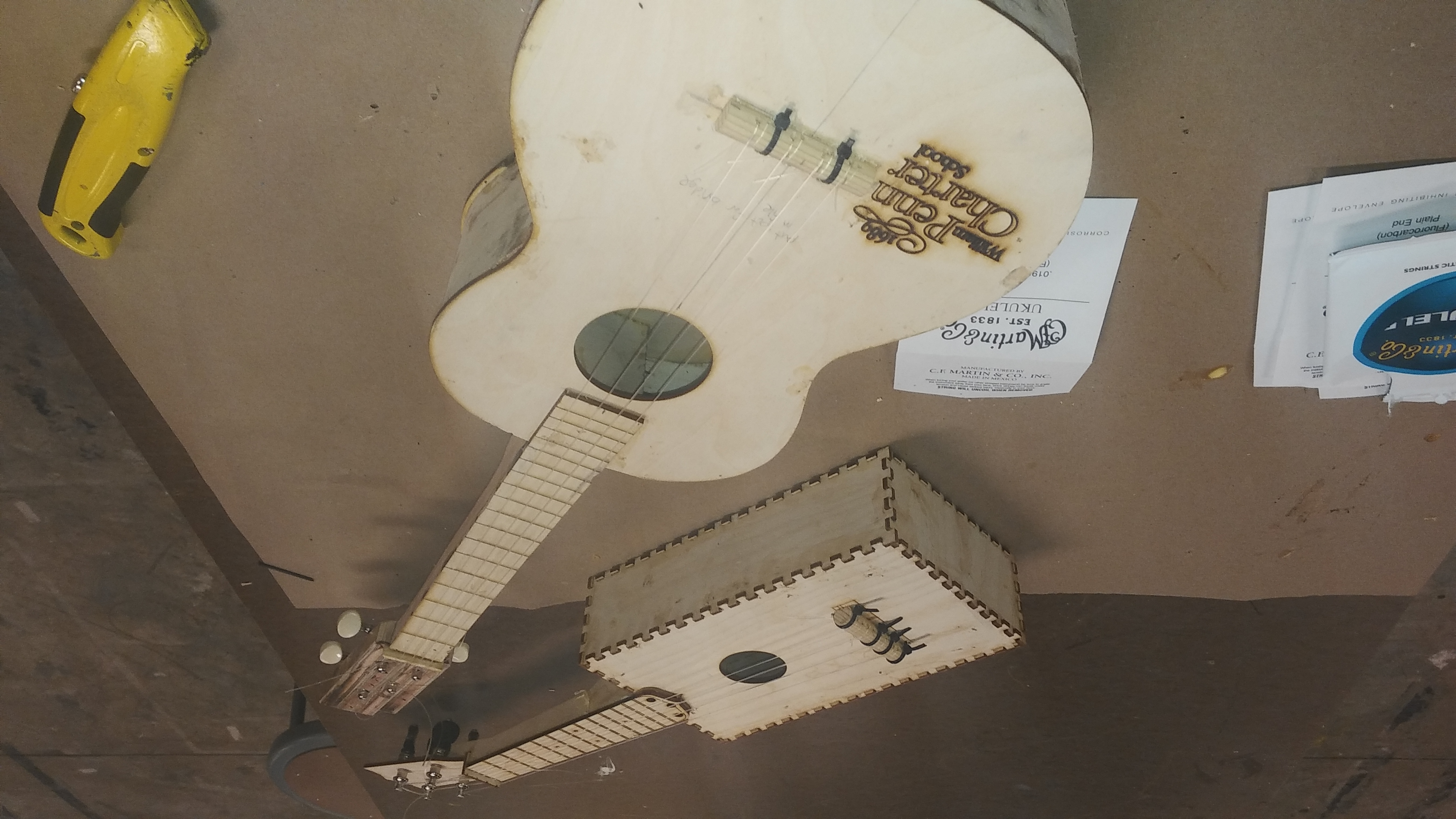 Picture of String Ukulele and Test