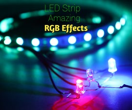 How to Make Amazing Effects RGB LED Strip Circuit