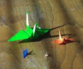 How to Fold an Origami Crane
