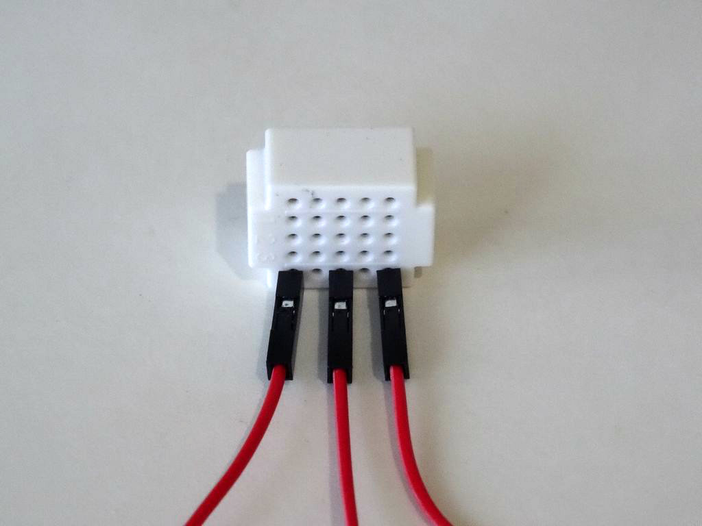 Picture of Connect the Power Wires to the Arduino Board