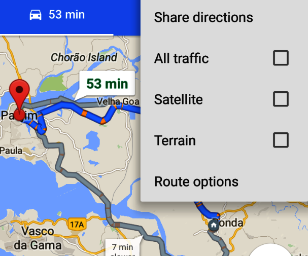 Save Google Map Directions As Way-points and Navigate ... on open map, print map, scroll map, contact us map, zoom map, click map, measure map,