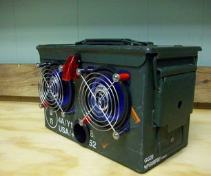 Ammo Box Speakers