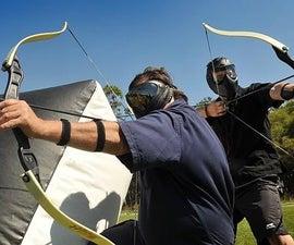 Punta de flecha para archery tag