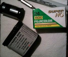 How to make homemade 35mm Redscale film!!