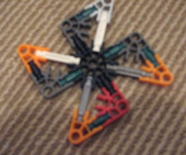 Lego and Knex ninja stars