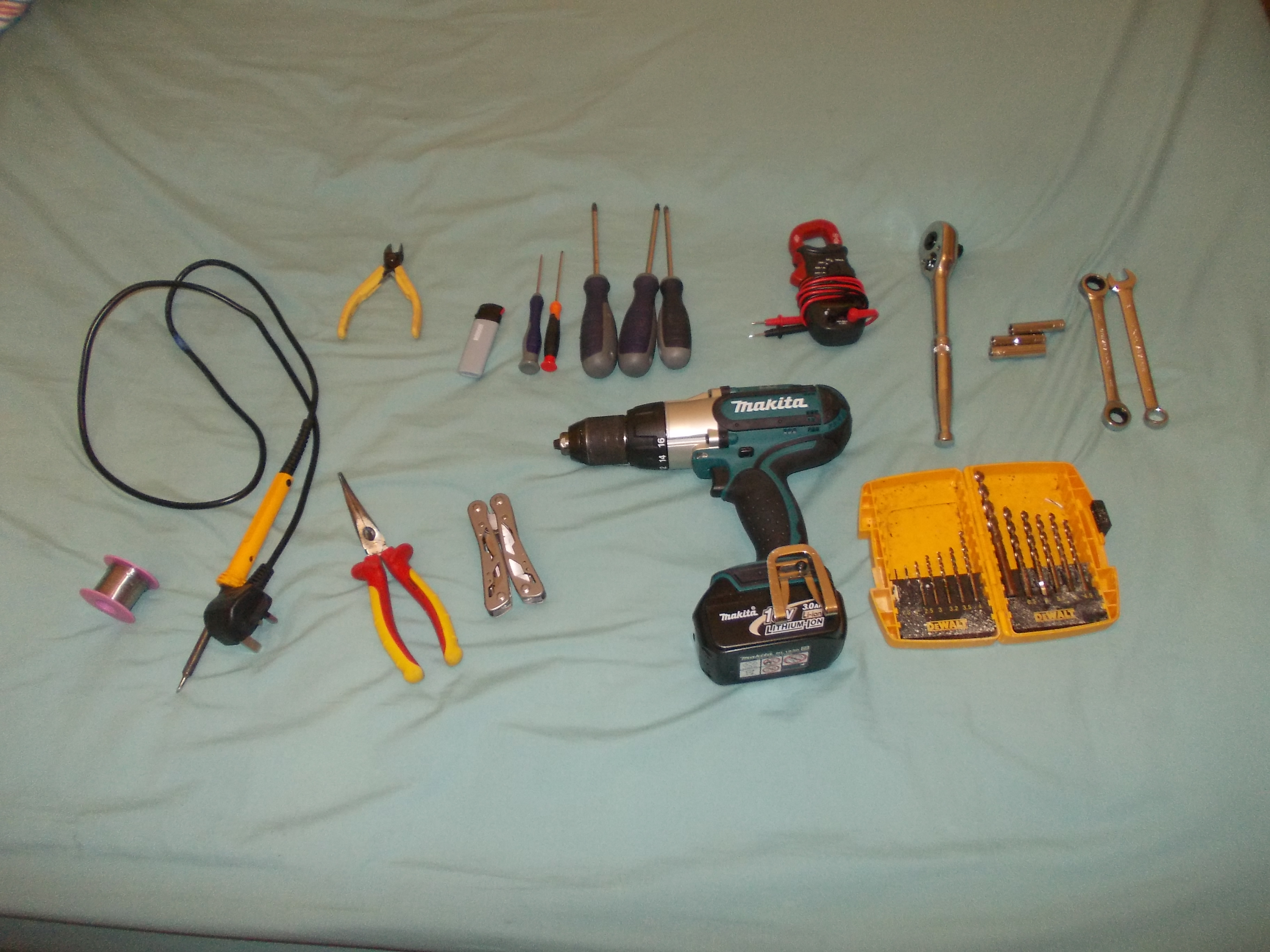 Picture of Materiel's and Tools