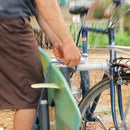 DIY Surfboard Bike Rack