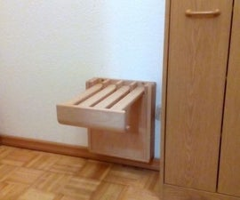Wall Mounted Folding Chair