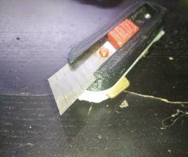 Swiss Army Knife Style Key Holder (w/ Knife, Sim Tool & Flashlight)