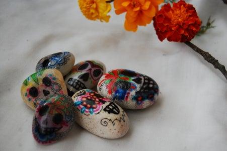 """Dias De Los Muertos """"Sugar Skull"""" Decorations"""