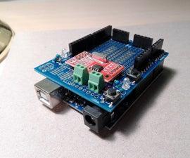 Arduino 16-bit 500SPS Dual Channel DAQ