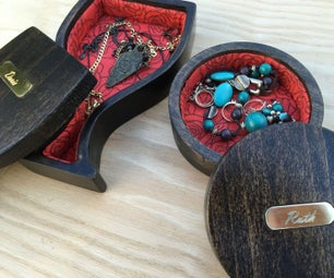 CNC Padded Jewelry Boxes