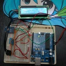 Arduino Portable Weather Monitor, altimeter, temperature, humidity, using DHT11 and BMP85 with LCD using only 3 pins