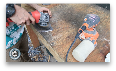 Cleaning Up the Axe Head