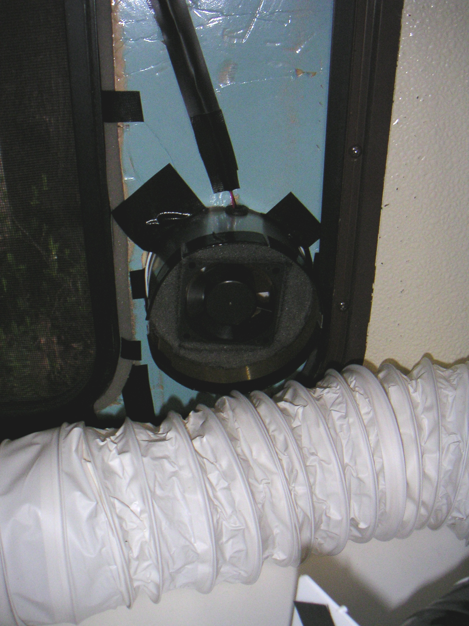 Picture of Window-mounted Solder Fume Extractor (not Just for RVs!)