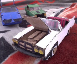 Cardboard Vehicle Collection!