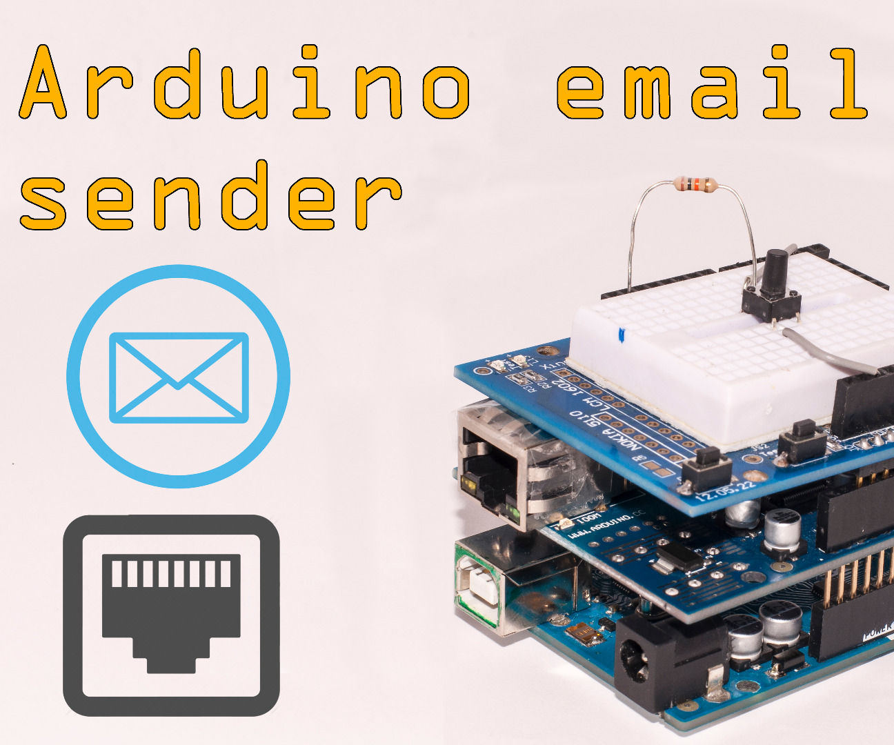 Arduino Email Sender With Ethernet Adapter/shield: 6 Steps