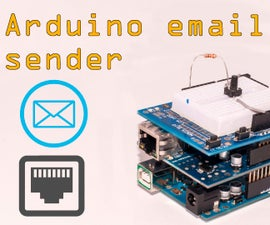 Arduino Email Sender With Ethernet Adapter/shield
