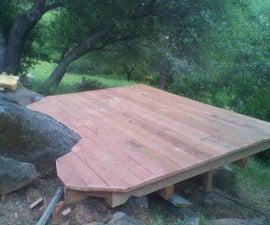 how to build a nice little custom deck