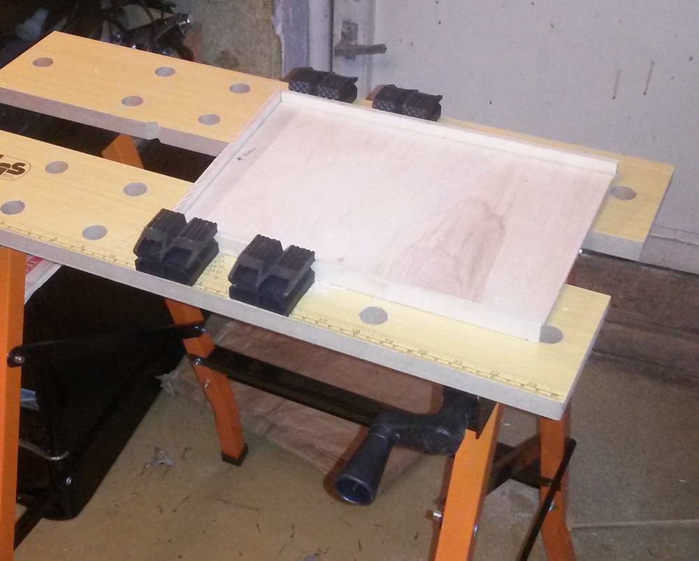 Picture of Cutting of Material.