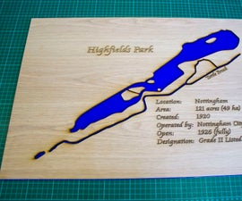 How to Make a Laser Cut Map