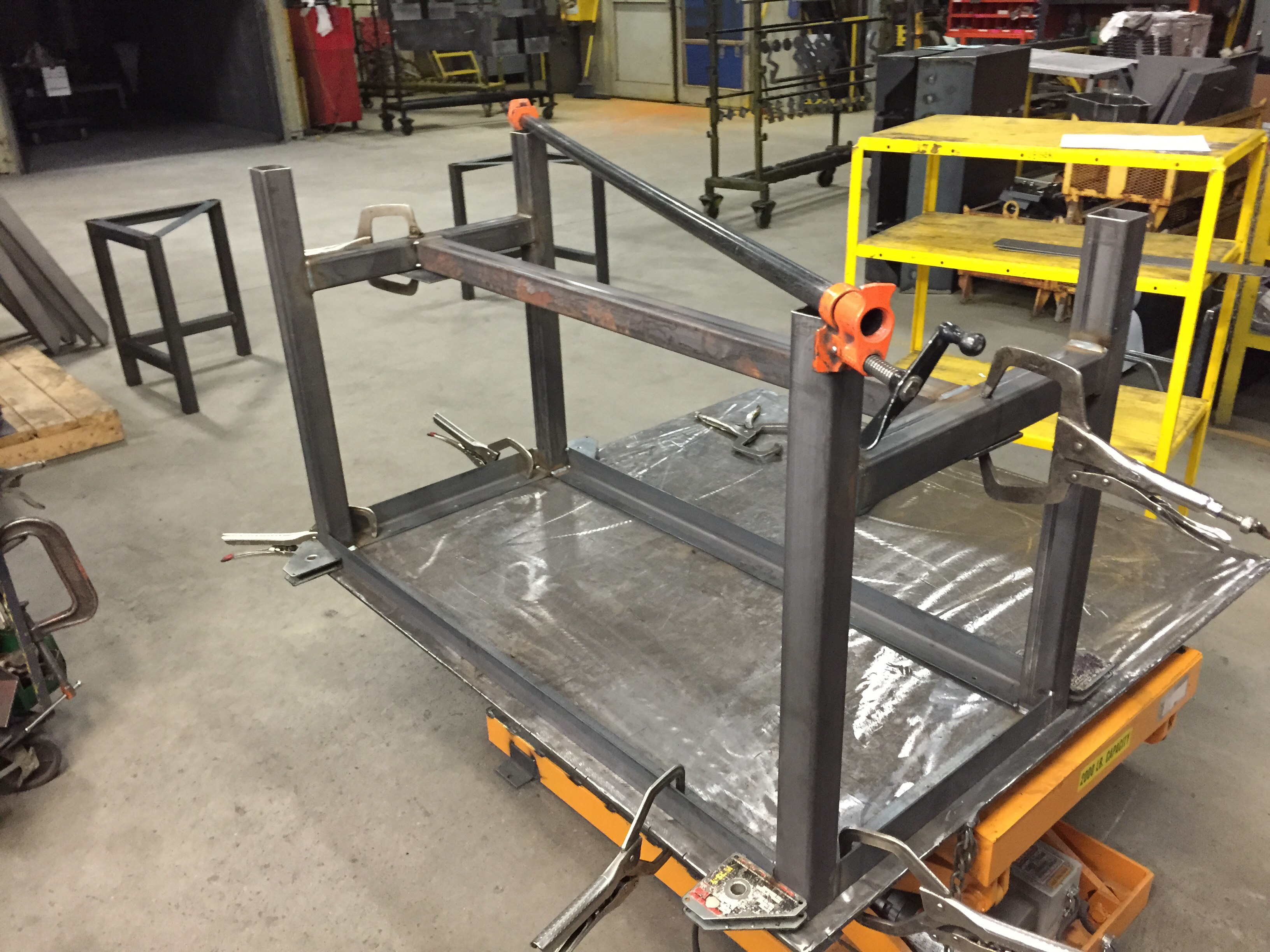 Picture of Welding Time!