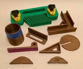 3D用于木工的印刷小工具