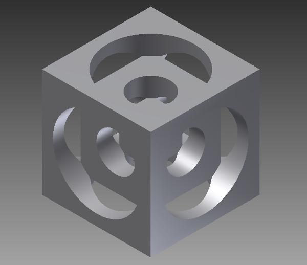 Turner's Cube - Designing in AutoDesk Inventor Pro 2012
