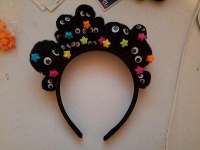 Glue the Stars on the Headband