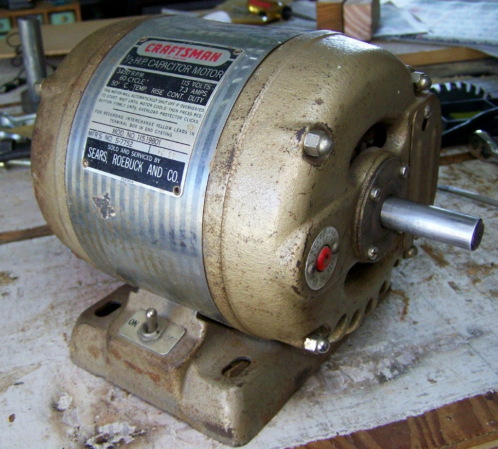 Make an Electric Motor Run Again: 6 Steps (with Pictures) Dc Motor Wiring Diagram Wall Plug on