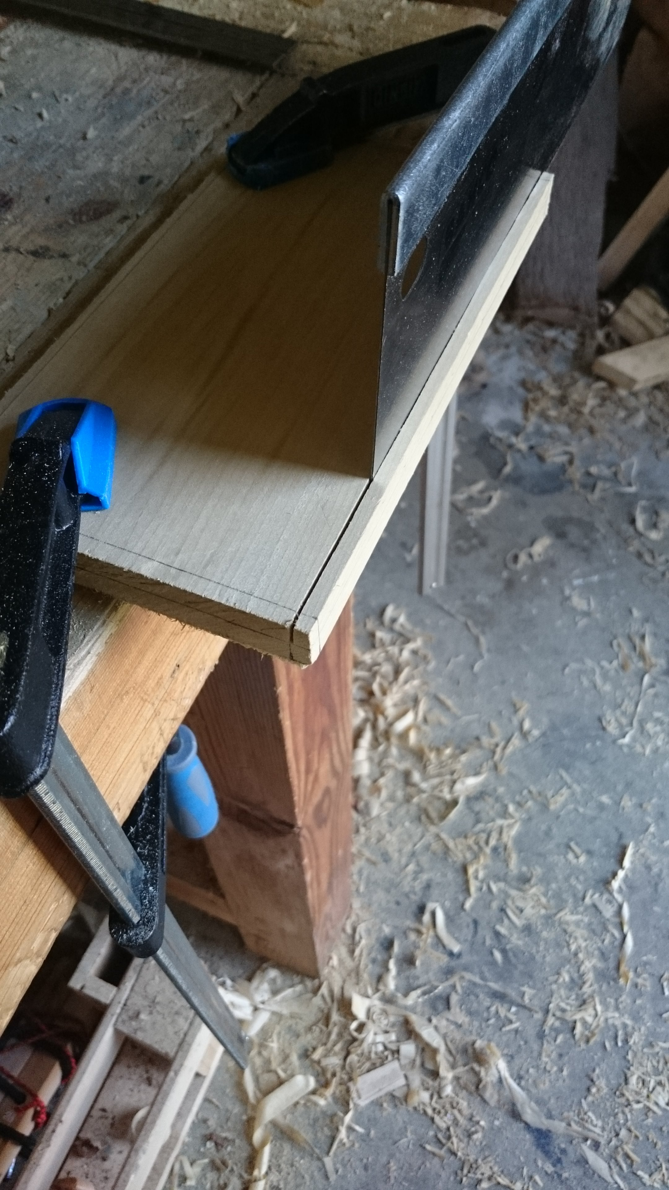 Picture of Cutting and Fitting the Top and Bottom