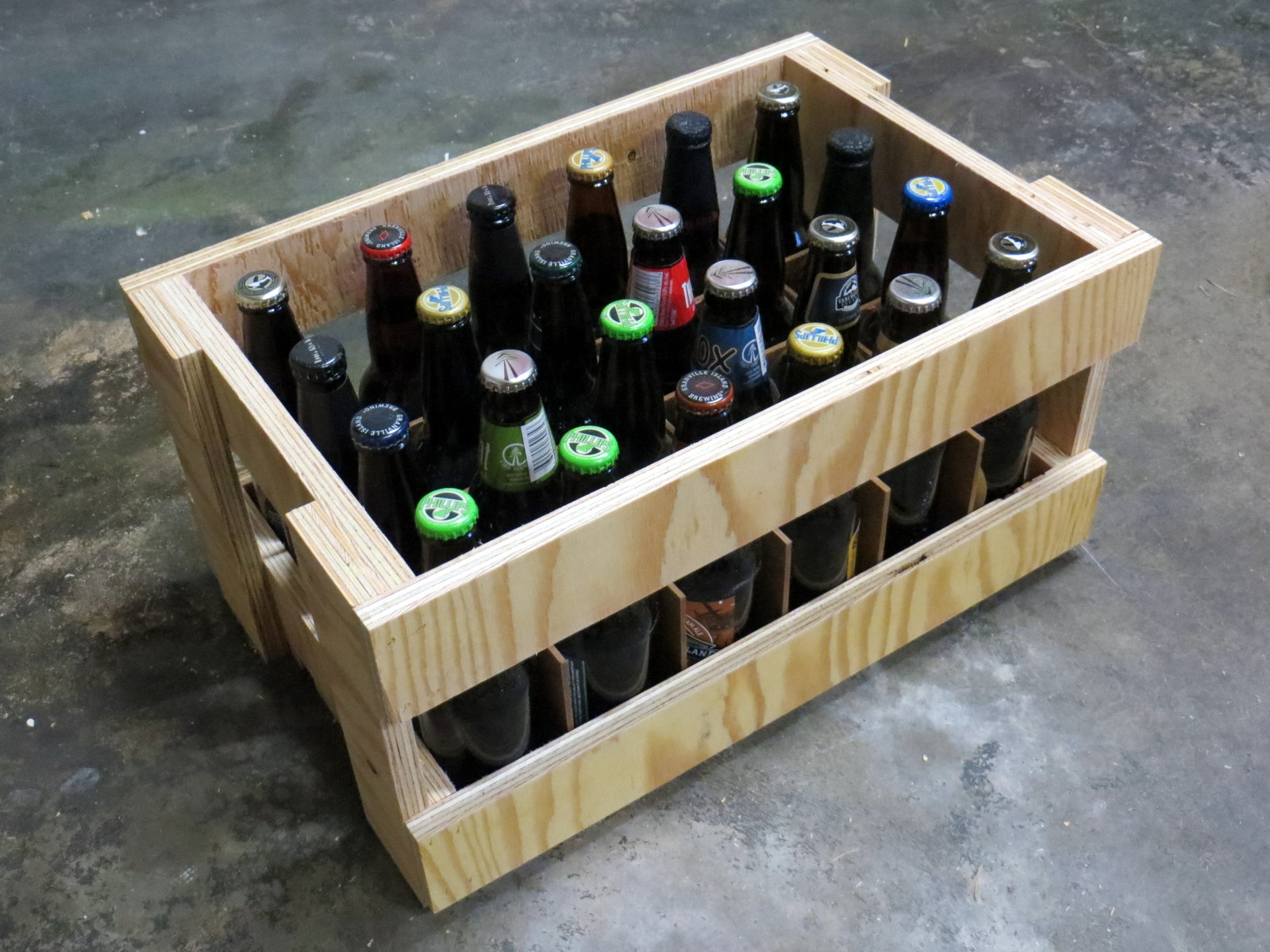 Picture of Plywood Beer Crate