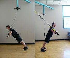 The Chains Suspension Exercise Device for Body Leverage Training