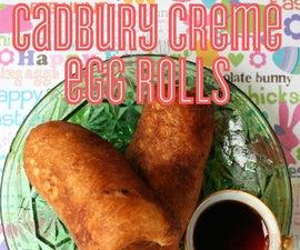Cadbury Creme Egg Rolls