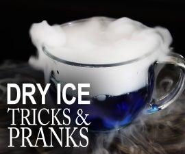 5 Awesome Tricks & Pranks With Dry Ice!