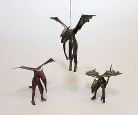 Unreal Beta Dragons Papercraft