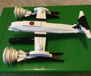The Tigershark a LEGO Spaceship