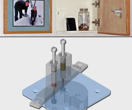 Magnetic Combination Lock Picture Safe
