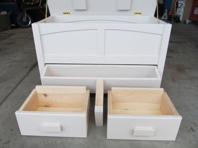 How to Make a Blanket Chest.