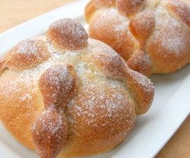 Day of Death Bread - Pan De Muerto