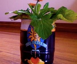 Mini-keg Flower Planter