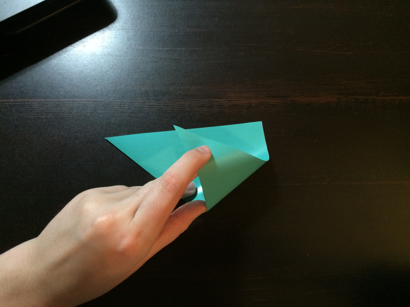 Picture of Second Fold: Similar to the First