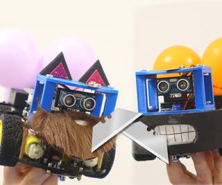 DIY Mario Kart Balloon Battle Robots