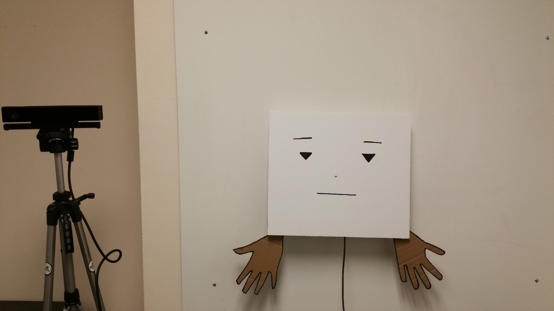 Picture of Marvin: Wall-Mounted Bot That Gestures