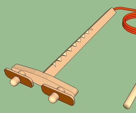 HOOEY Stick Twin Prop