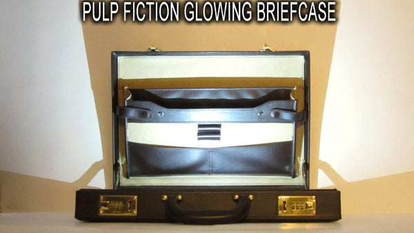 The Glowing Briefcase From Pulp Fiction