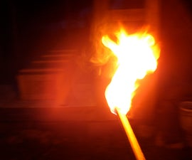 How to make a torch for less than a dollar
