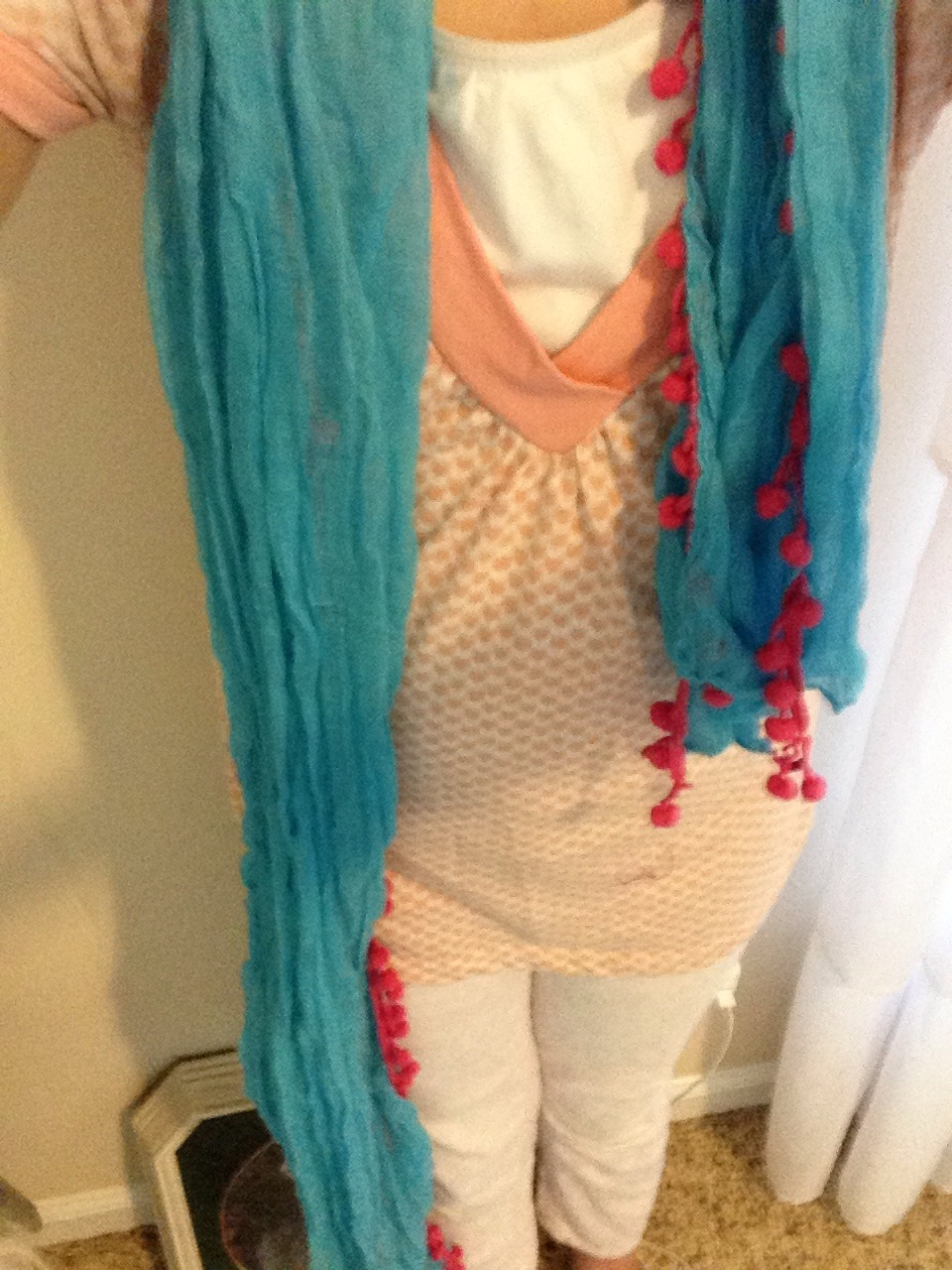 Picture of Scarf Number Two!