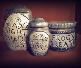 DIY Nightmare Before Christmas Jars